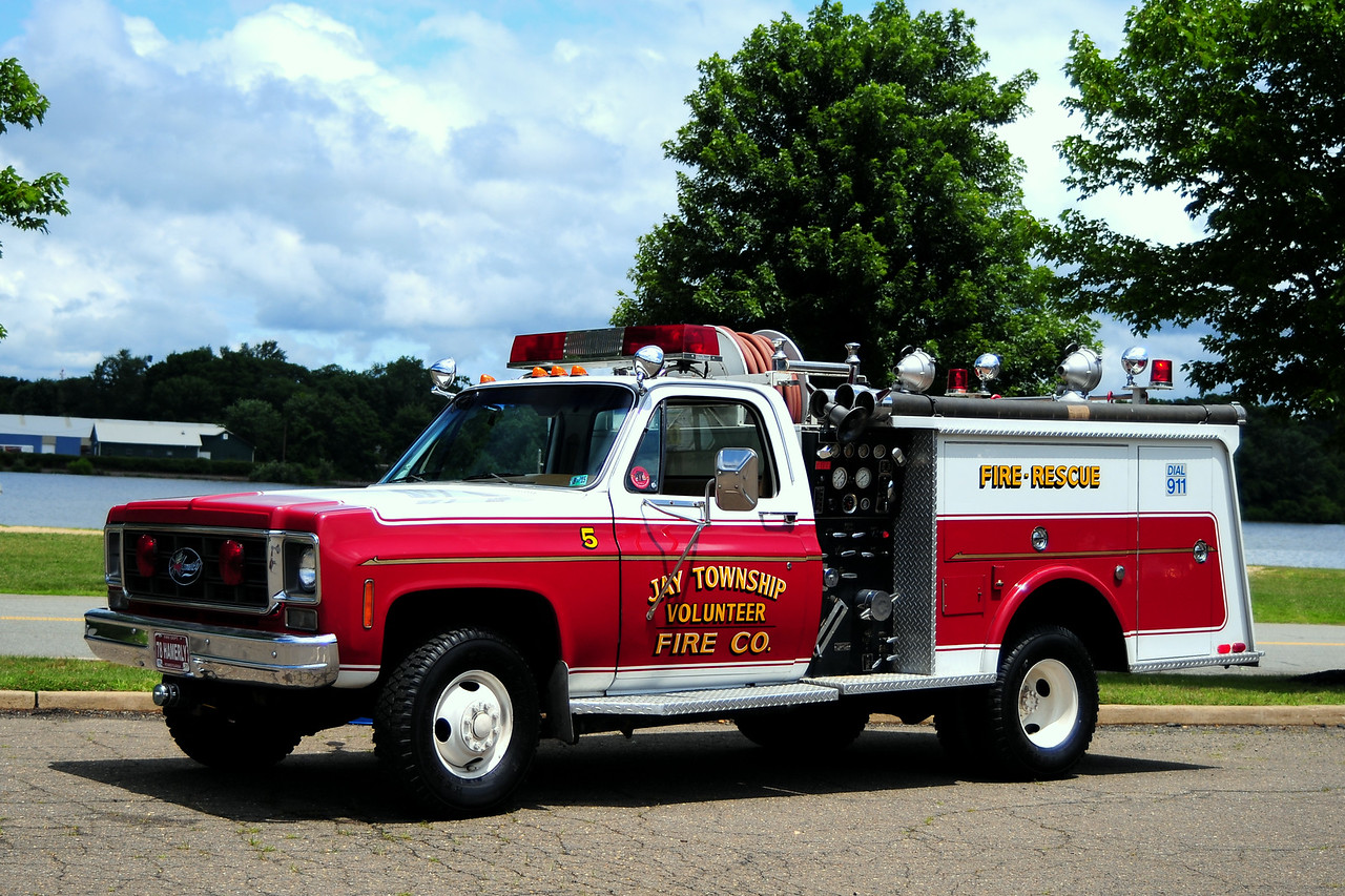 Jay Twp Vol Fire Co  Engine EE52