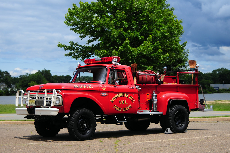 Monmouth Junction Vol Fire Dept  Brush 2020