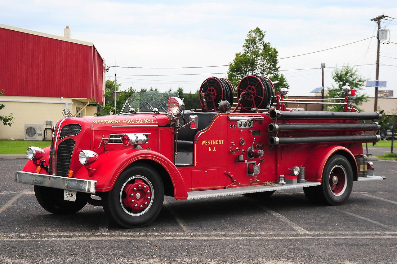 Westmont  Fire  Dept , Westmont, NJ 1941 Hahn 500gpm  #6436