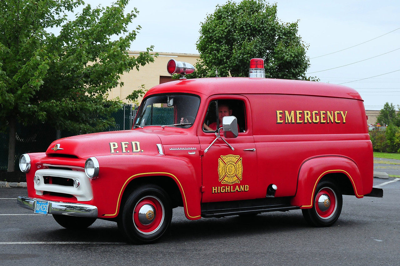 Hiland Fire Co, Pennsauken, NJ 1956 International S-110