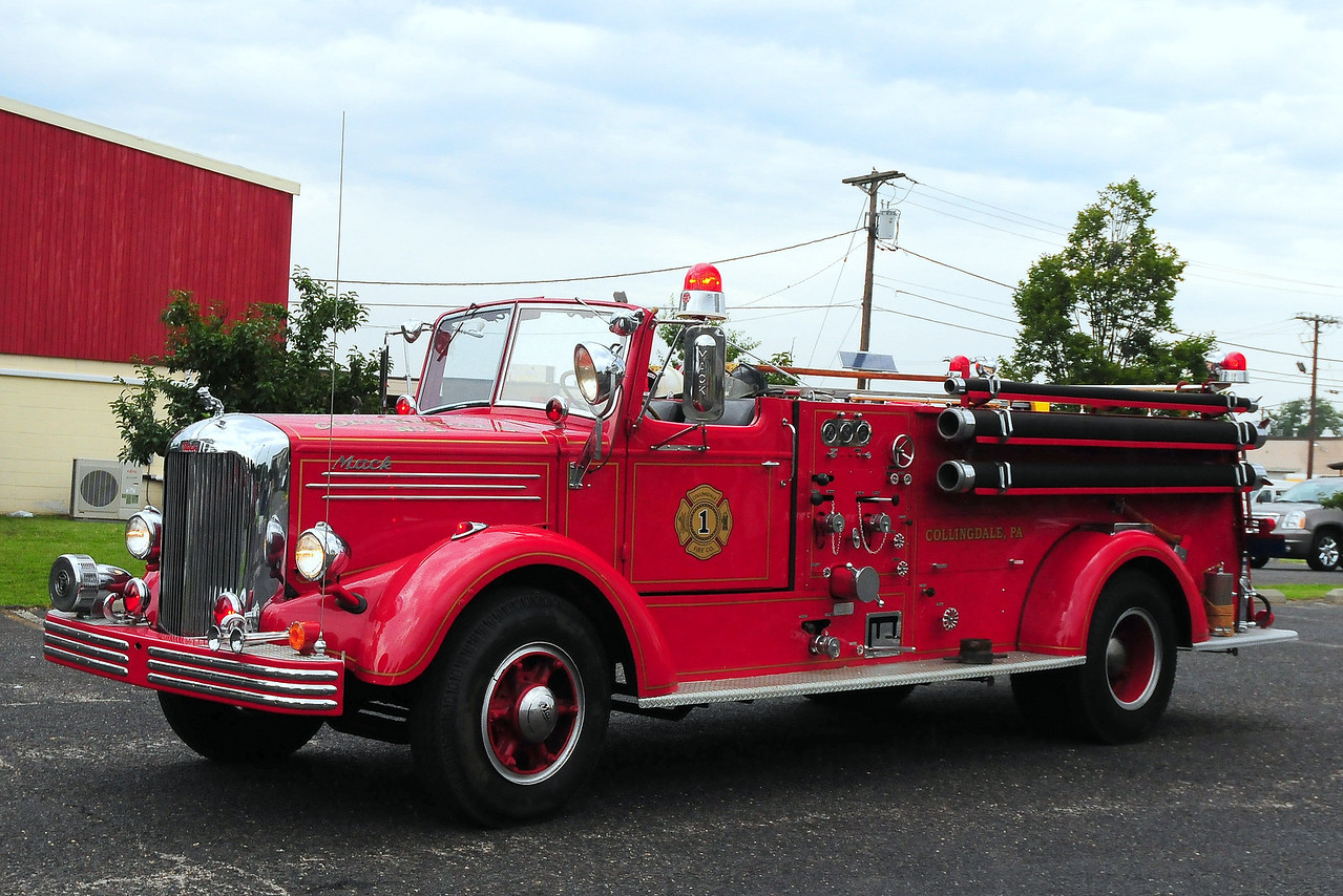 Bryn Mawr, PA 1948 Mack L85S 750/ 500  85LS1190 (Lettered for Collingdale)