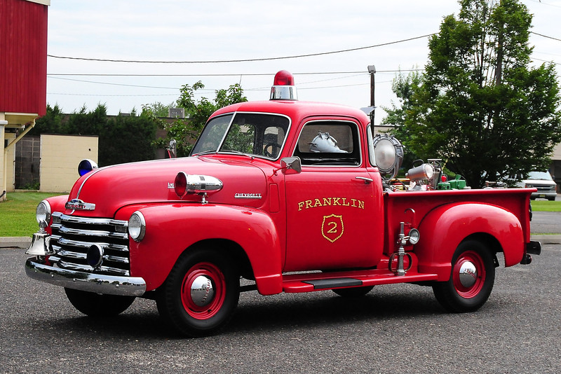 Franklin Fire Co 2 , Franklin Mass. 1949 Chevy/American LaFrance