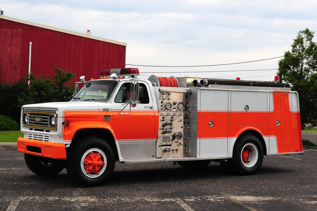 "1978 Chevrolet C65/Hamerly 1000/ 500 ""junior pumper""<br />  Ex-Thompsontown, PA"