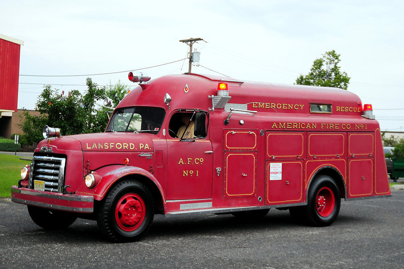 American Fire Co 1,  Landsord, PA 1951 GMC/Approved Model 250/ 250 HC724 SN# 183