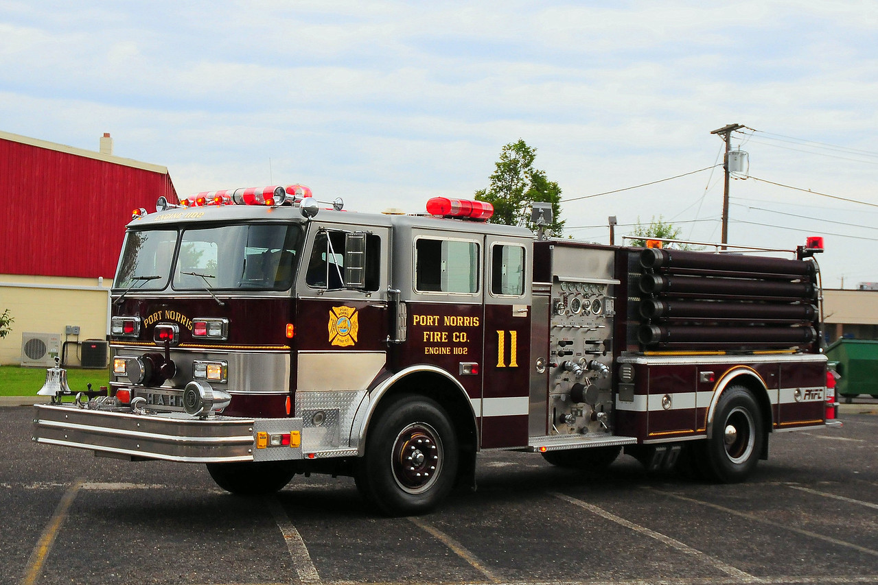 Port Norris  Fire  Co, Port Norris Engine 1102  1979 Hahn 1250gpm  HCP226127935
