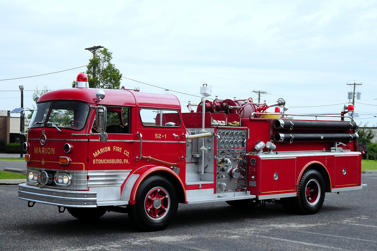 Marion Fire  Co , Stouchsburg, PA  Engine  52-1  1967 Mack C125 1250/ 750   # C125FD-1106