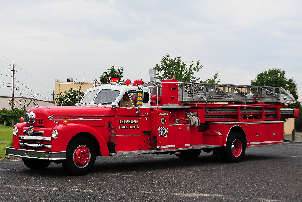 Luverne 1957 Seagrave 85' Model 900A  SN-K205 Originally St. Paul, MN
