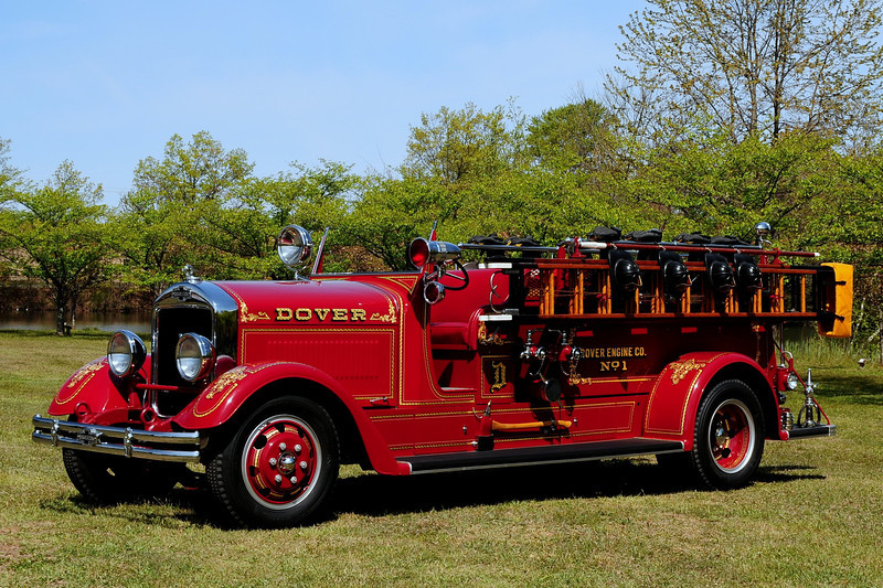 Dover , NJ Engine  7 - 1937 American La france  type 475 RB L-839  750/200  Reg.L-839,  Shipped 2/10/37