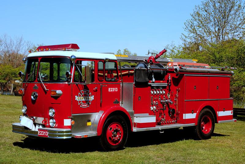 1970 Crown Fire Coach Canta Cruz County Ca Engine 2313 1250/ 400