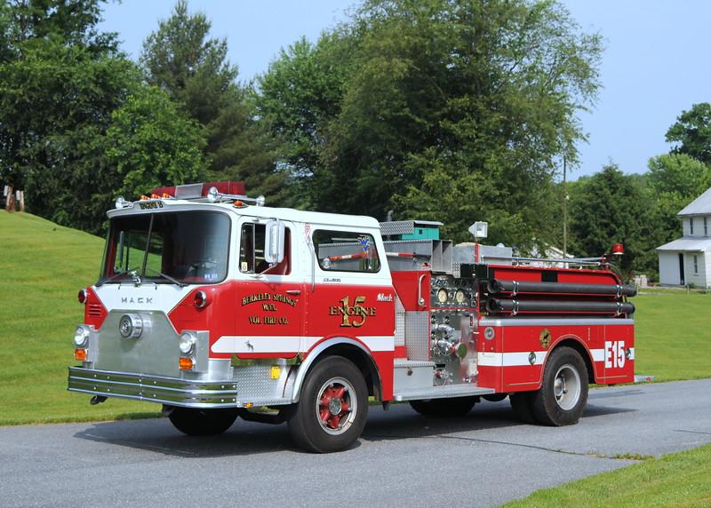 Berkeley Springs  Vol Fire Co.  Berkeley Springs, WV