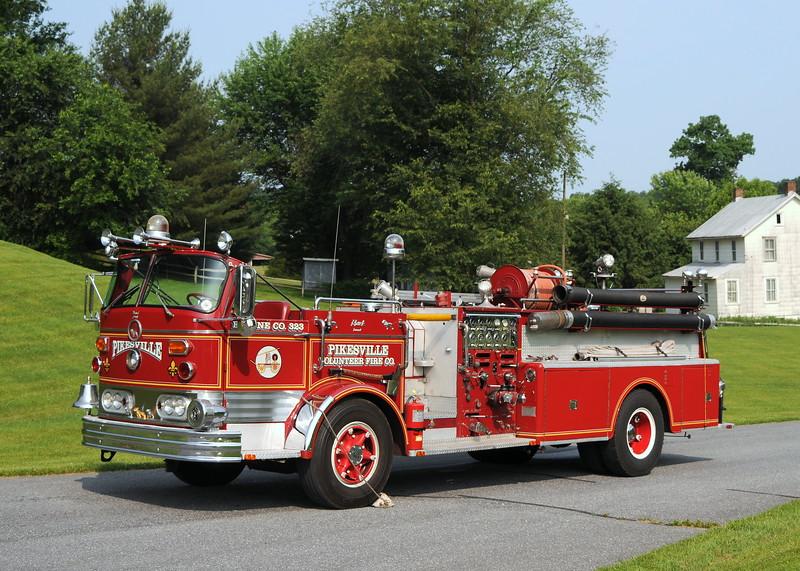 Pikesville Vol. Fire Co. Pikesville,MD