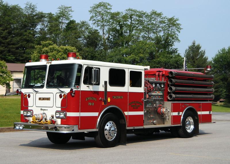 Cresson Fire Dept, Cresson , Pa