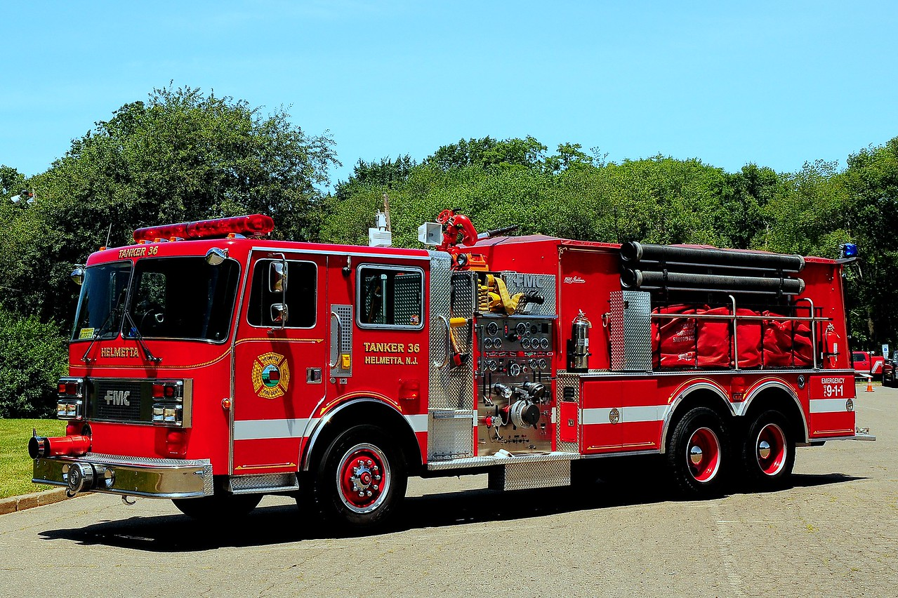 Helmetta Fire Dept 1989 FMC/ Pemfab 1500/ 3000 Ex- Apshawa Fire Co 1 of West Milford NJ