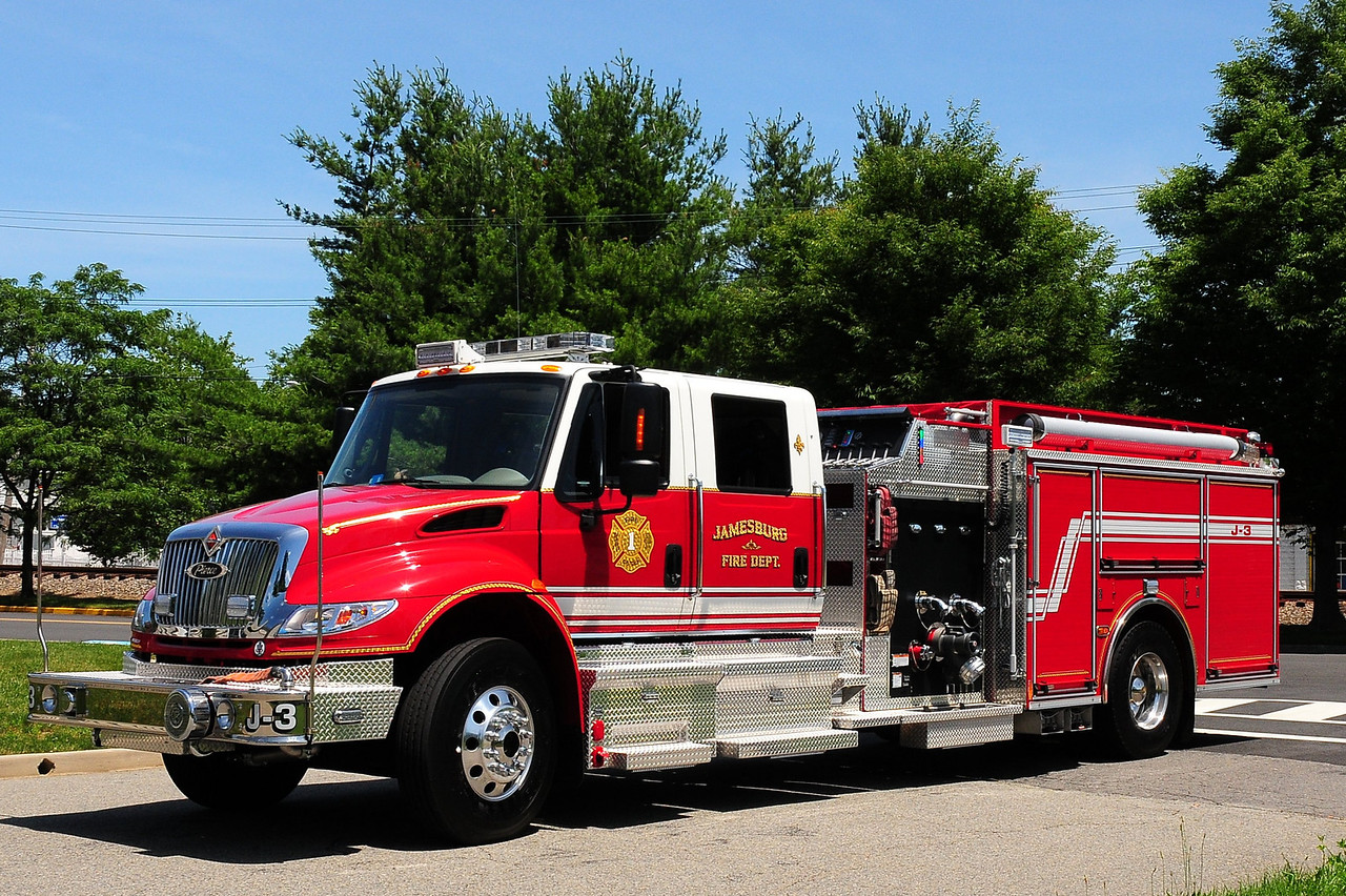 Jamesburg Fire  Dept   Engine  J-3  2012  International  Navistar / Pierce   1500/ 750