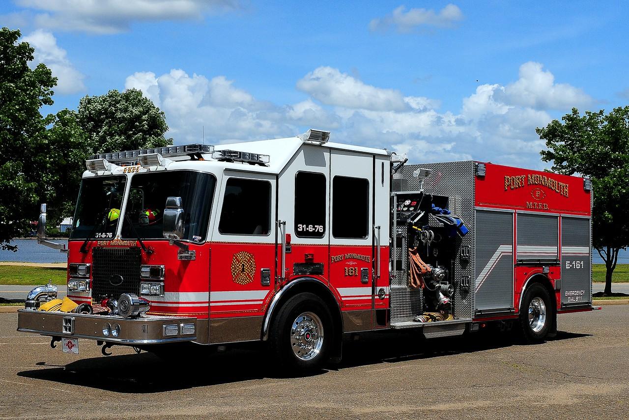 Port Monmouth  Fire  Dept    2011  KME  Predator   1500/ 750