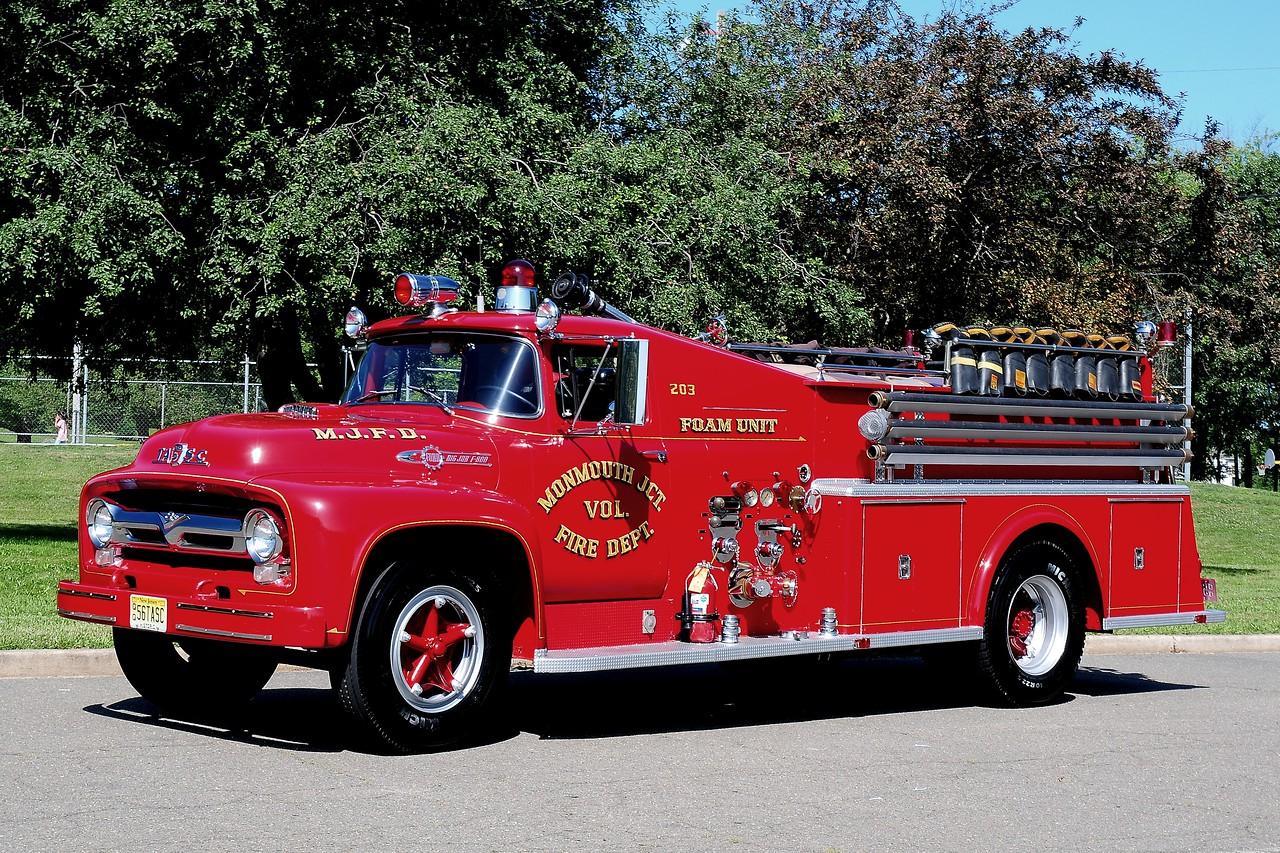 Monmouth  Junction  Fire  Dept  1956  Ford / Tasc   500/ 500