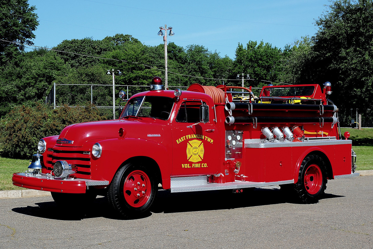 East Franklin twp Fire Dept   1952  Chevrolet   250/ 275