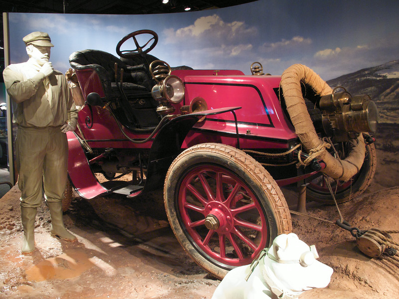 1903 Winton automobile-first car to drive across America. (Smithsonian, National Museum of American History)