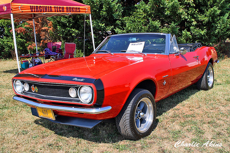 This is also a 1967 Chevy Camaro