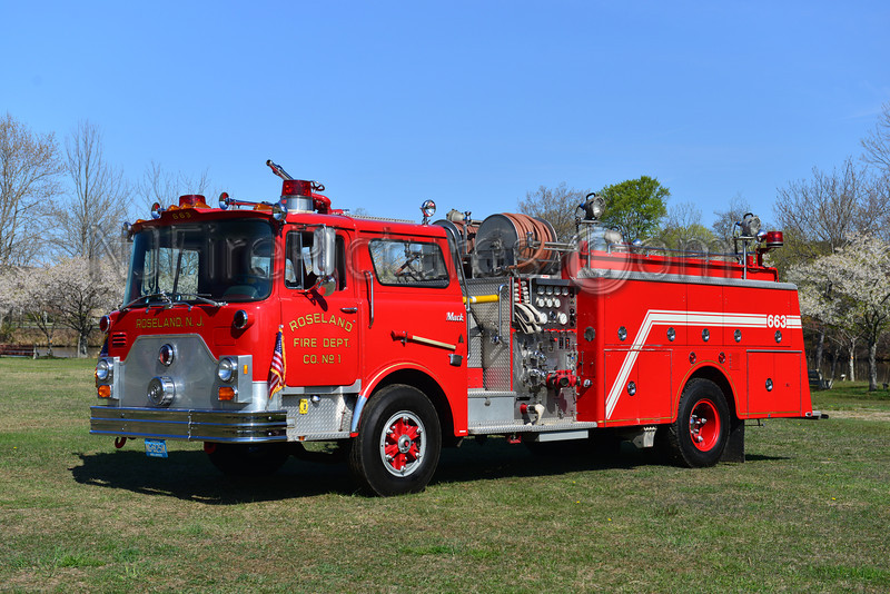 ROSELAND, NJ ENGINE 663 - 1980 MACK CF 1000/500