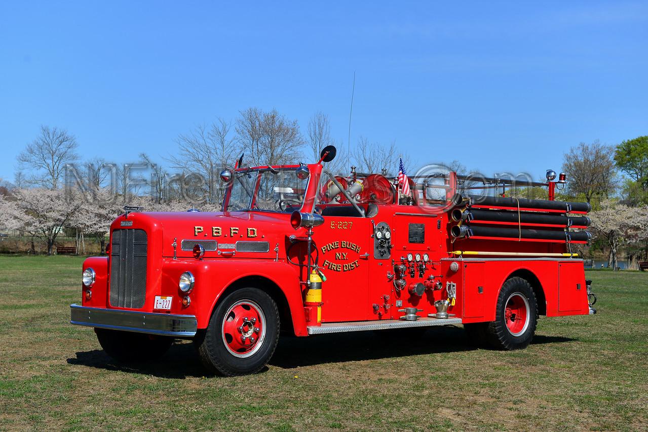 PINE BUSH, NY ENGINE 227 - 1956 WARD LAFRANCE 750 GPM MODEL 183T