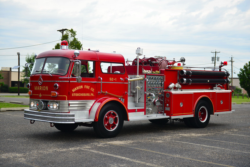 STOUCHSBURG, PA (MARION FIRE CO) 1967 MACK C125 1250/750