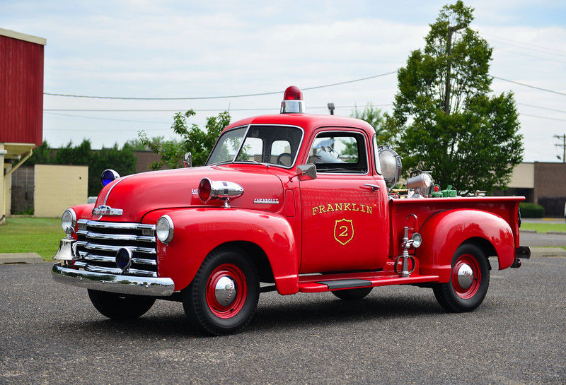FRANKLIN, MASS - 1949 CHEVY/AMERICAN LAFRANCE