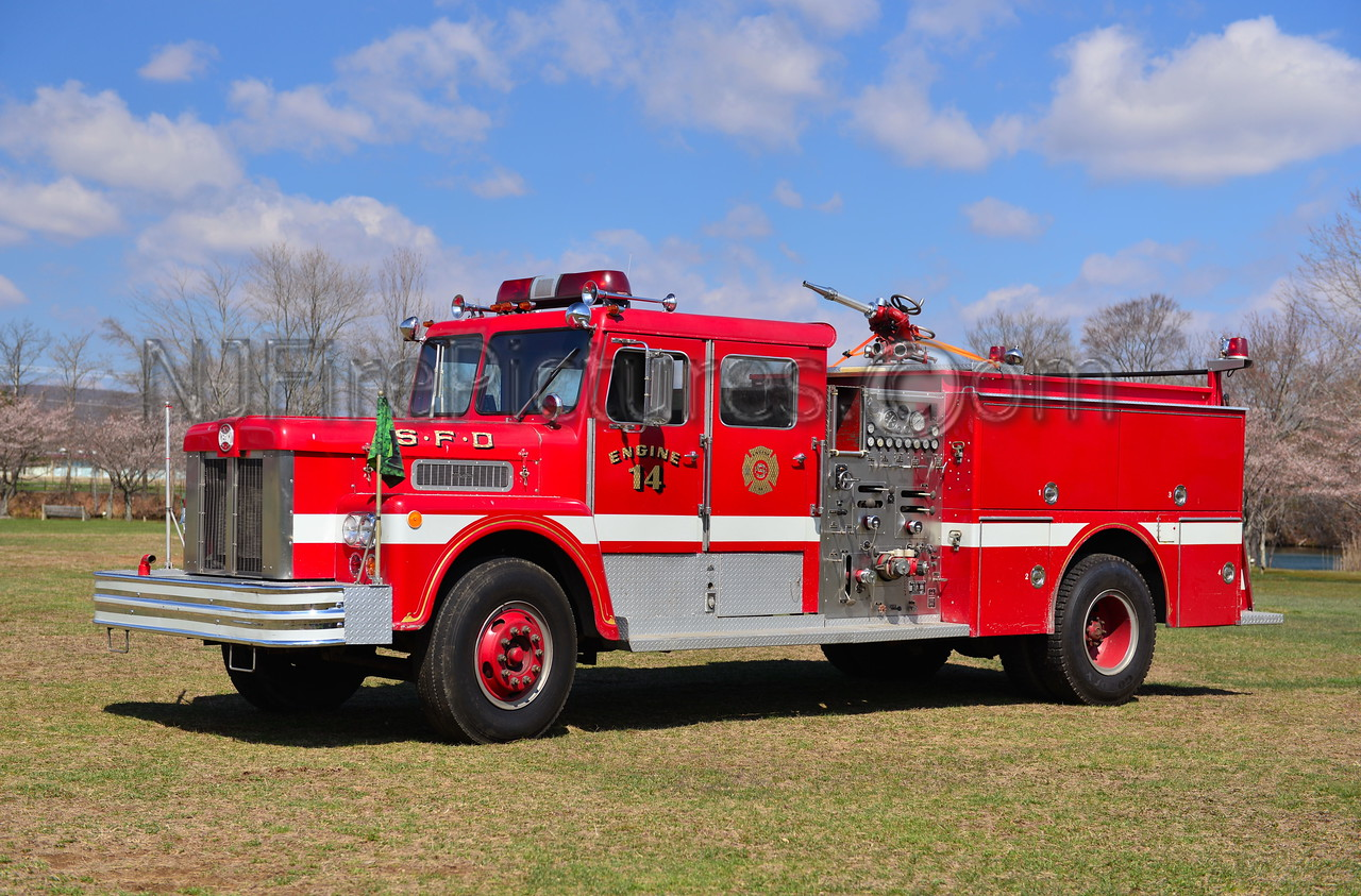 SPRINGFIELD MASSACHUSETTS ENGINE14
