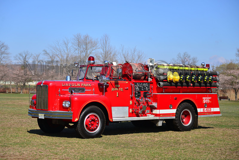 LINCOLN PARK, NJ ENGINE 103