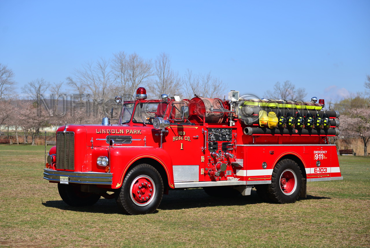 LINCOLN PARK, NJ ENGINE 103