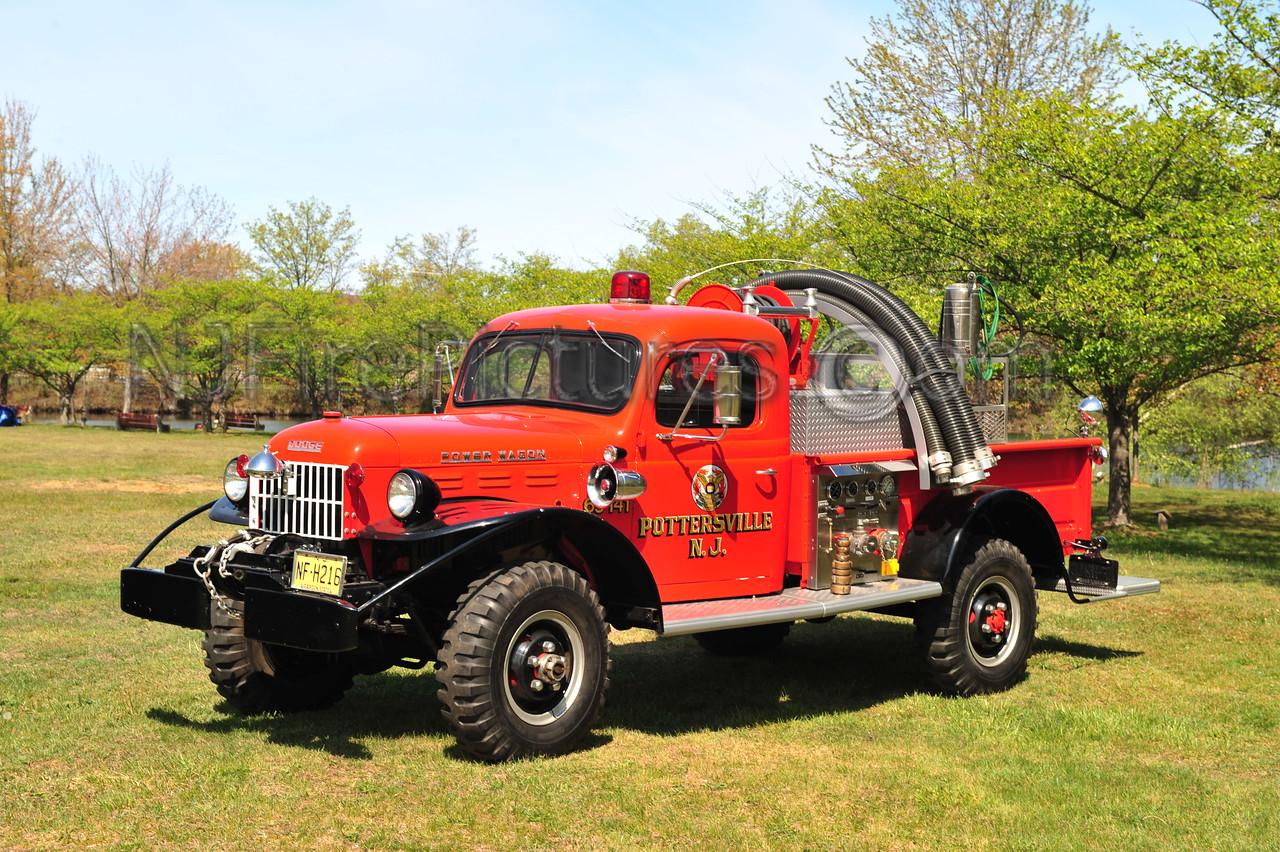POTTERSVILLE, NJ BRUSH 63-141 - 1961 DODGE POWER WAGON 250/75