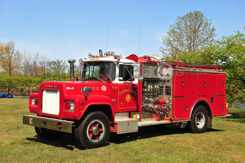 CHESTER, NJ ENGINE 31-62 - 1970 MACK R MODEL/PIERCE 1250/1000 NOW PRIVATELY OWNED