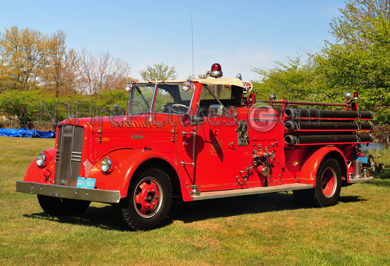 Stanhope, NJ 1955 Ward LaFrance Model 83T 750/250 Privately Owned by Harold Price