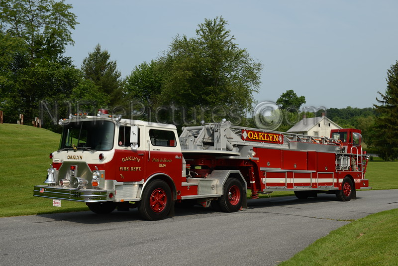OAKLYN, NJ TRUCK 1834