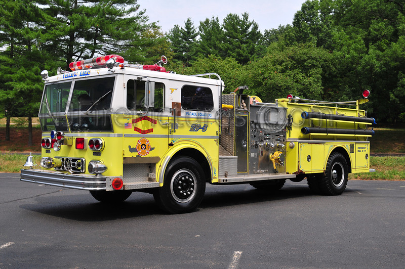 MOOSE'S ANTIQUE FIRE BRIGADE - 1973 WARD LAFRANCE 1000/1000 EX-HAZLET, NJ / MAHAFFEY TWP, PA