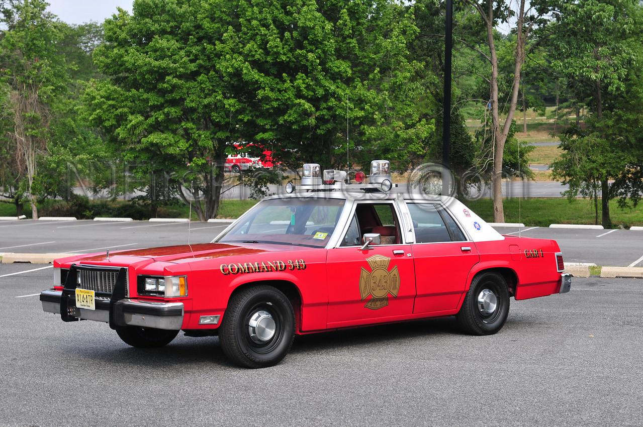 1987 MERCURY CHIEFS CAR (EX-MOUNT PENN, PA CAR-1)