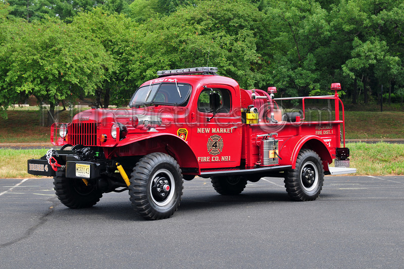 PISCATAWAY, NJ (NEW MARKET FIRE CO.) - 1964 DODGE POWER WAGON 250/250