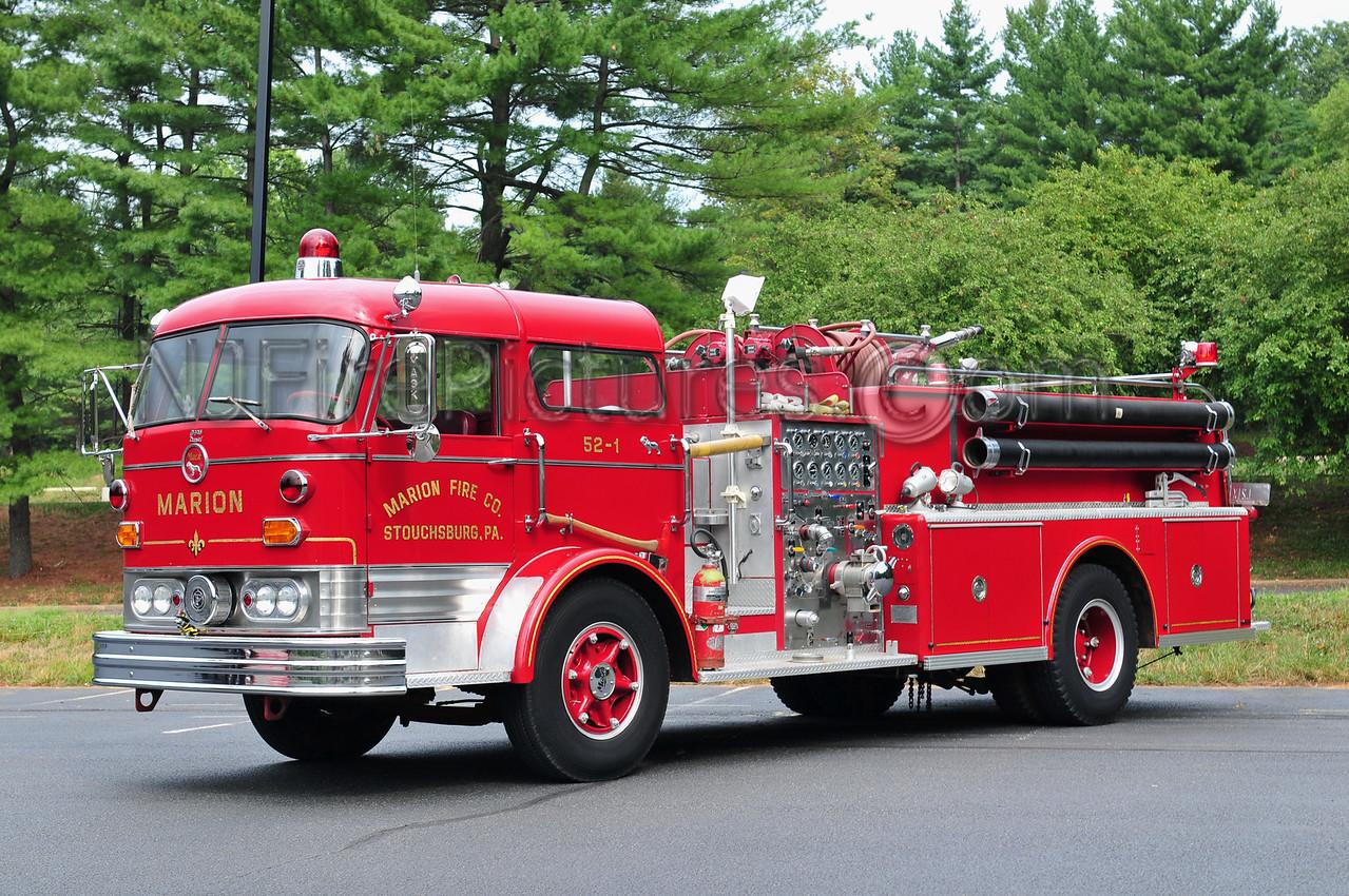 STOUCHSBURG, PA - 1967 MACK C125 1250/750 PRIVATELY OWNED BY RICHARD MENFREDI