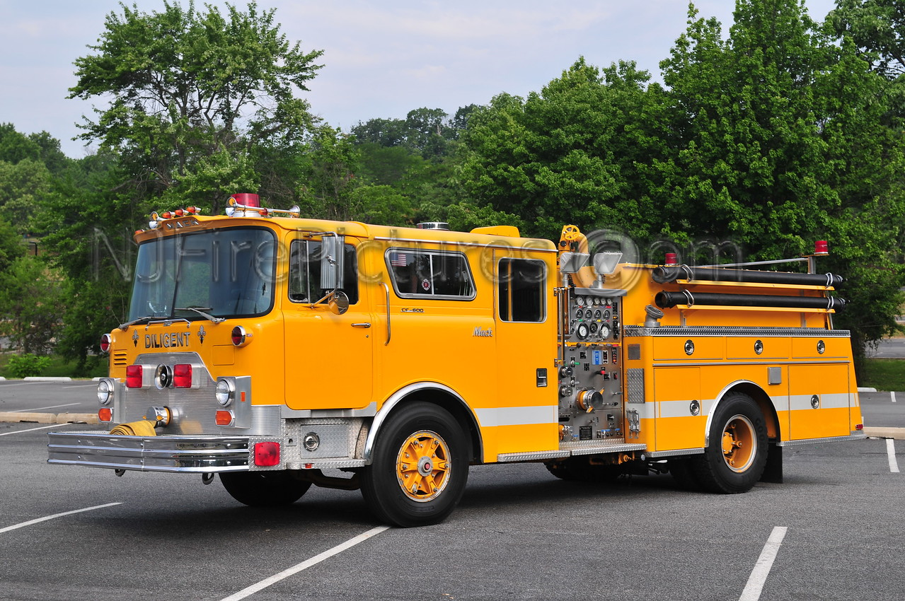 JIM THORPE, PA - 1977 MACK CF600/90KME 1000GPM  NOW OWNED BY KEITH KEMERY OF WILLIAMSTOWN, NJ