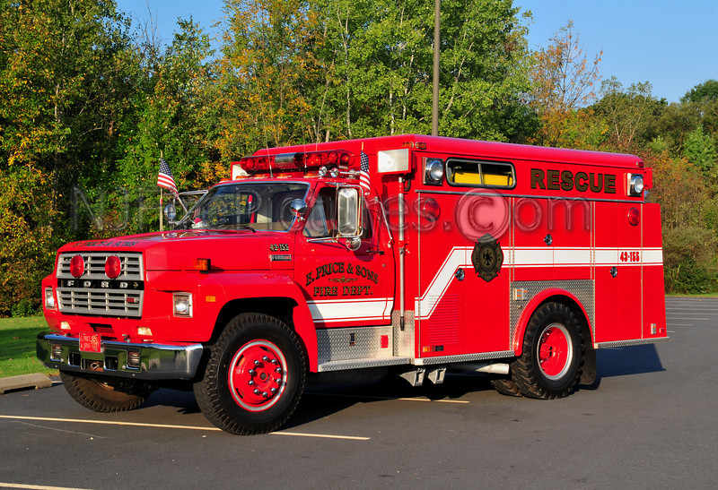 1984 FORD F700/SWAB OWNED BY E.PRICE AND SONS. FORMERLY SERVED MARTINSVILLE, NJ