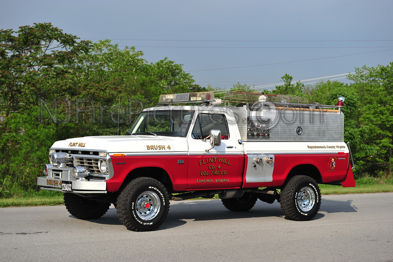 FLINT HILL BRUSH 4 - 1974 FORD F250 NOW PRIVATELY OWNED
