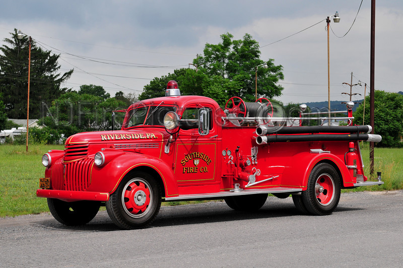 RIVERSIDE, PA ENGINE 78 - 1941 CHEVROLET/HALE 500/150