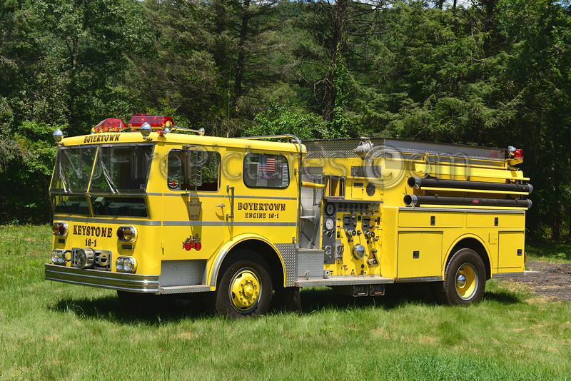 BOYERTOWN, PA ENGINE 16-1