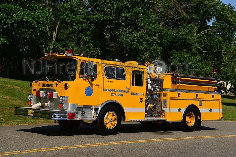 JIM THORPE, PA ENGINE 1114