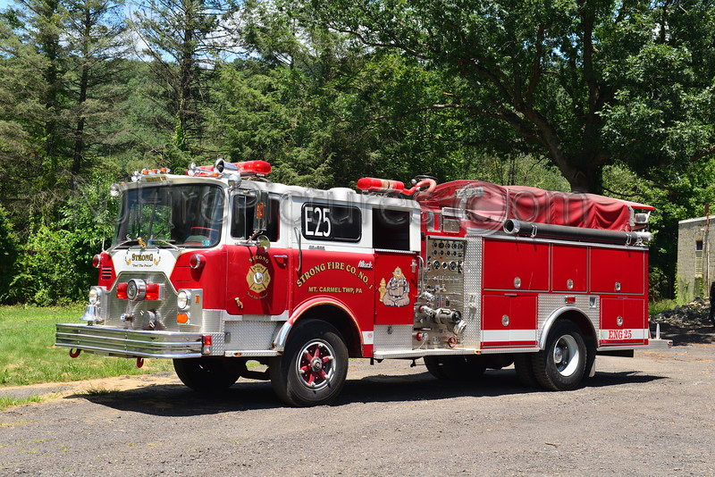 MOUNT CARMEL TWP, PA ENGINE 25