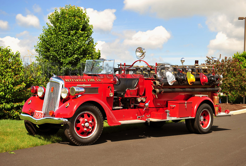 NEFFSVILLE, PA 1936 SEAGRAVE/REO 500/500