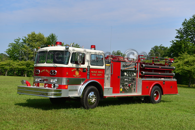MINE HILL, NJ ENGINE 122