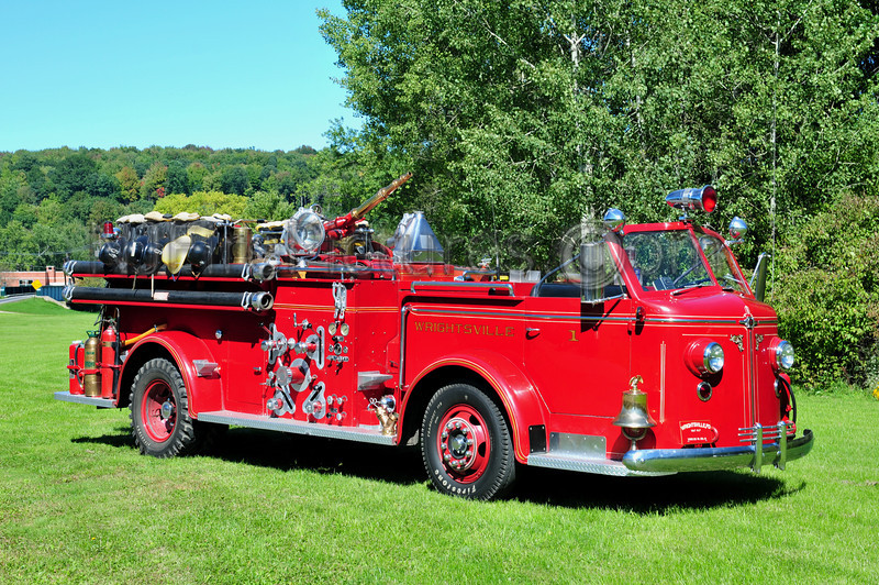 WRIGHTSVILLE, PA - 1947 AMERICAN LAFRANCE 750/150 OWNED BY BOB ZERCHER