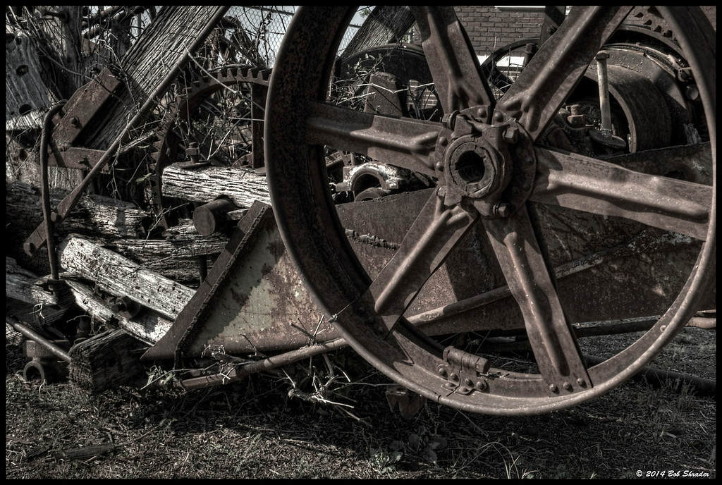 Old Oil Field Machinery