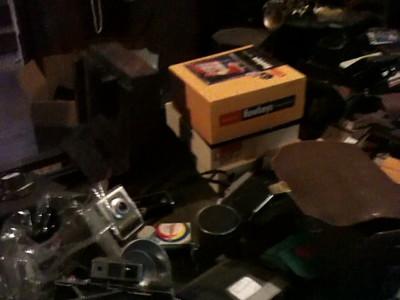 Hundreds of Cameras at Estate Sale 6.10.2011